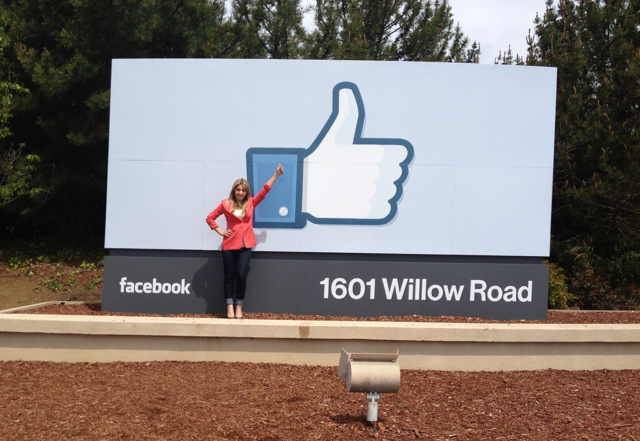 Tour of the Facebook Headquarters in Menlo Park, Ca  | Rachel's