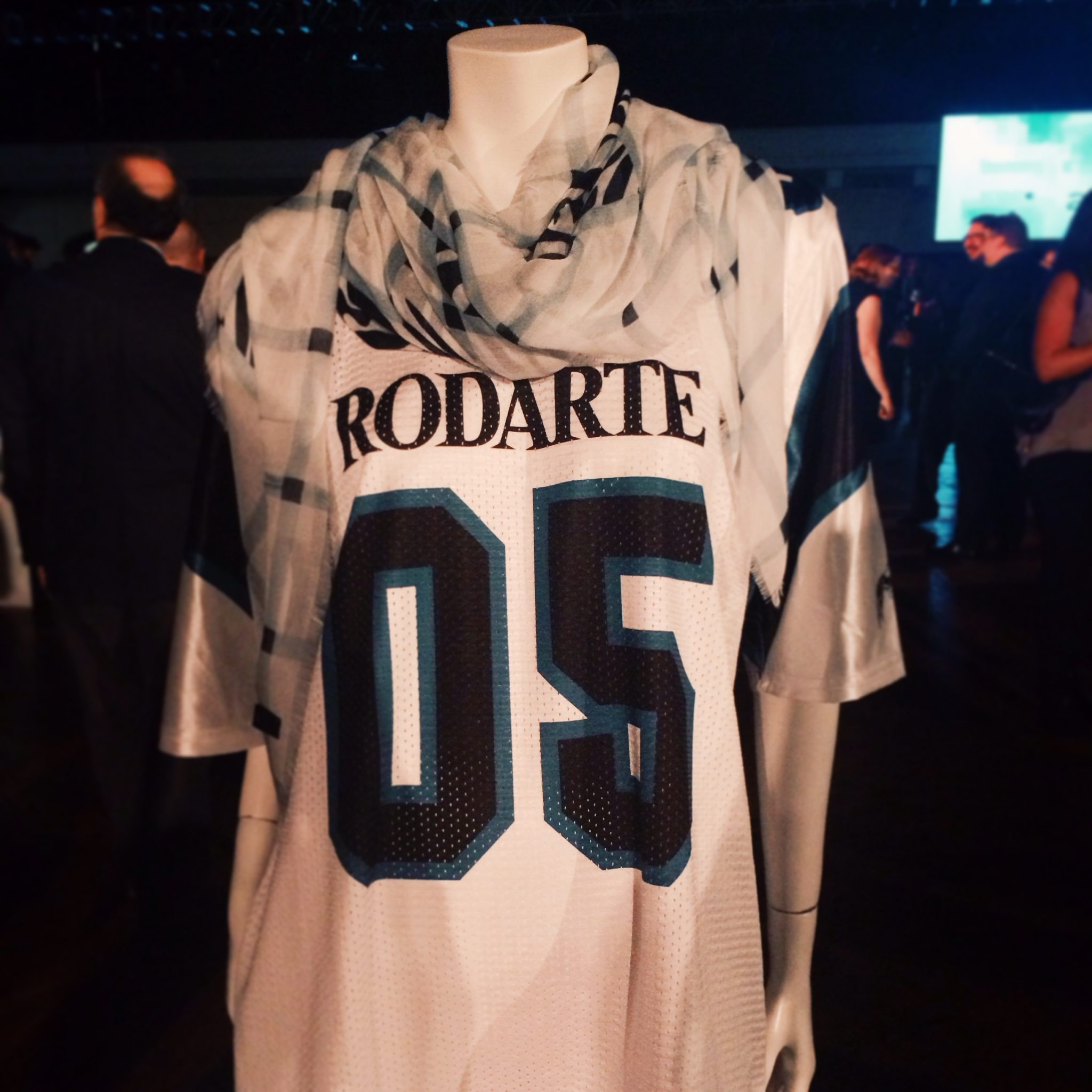 This Rodarte SS'14 Jersey was one of the items up for auction.