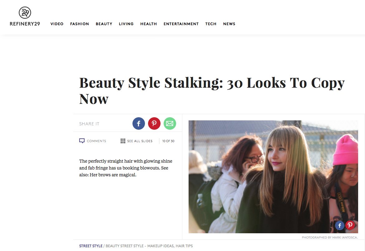refinery29 beauty style stalking
