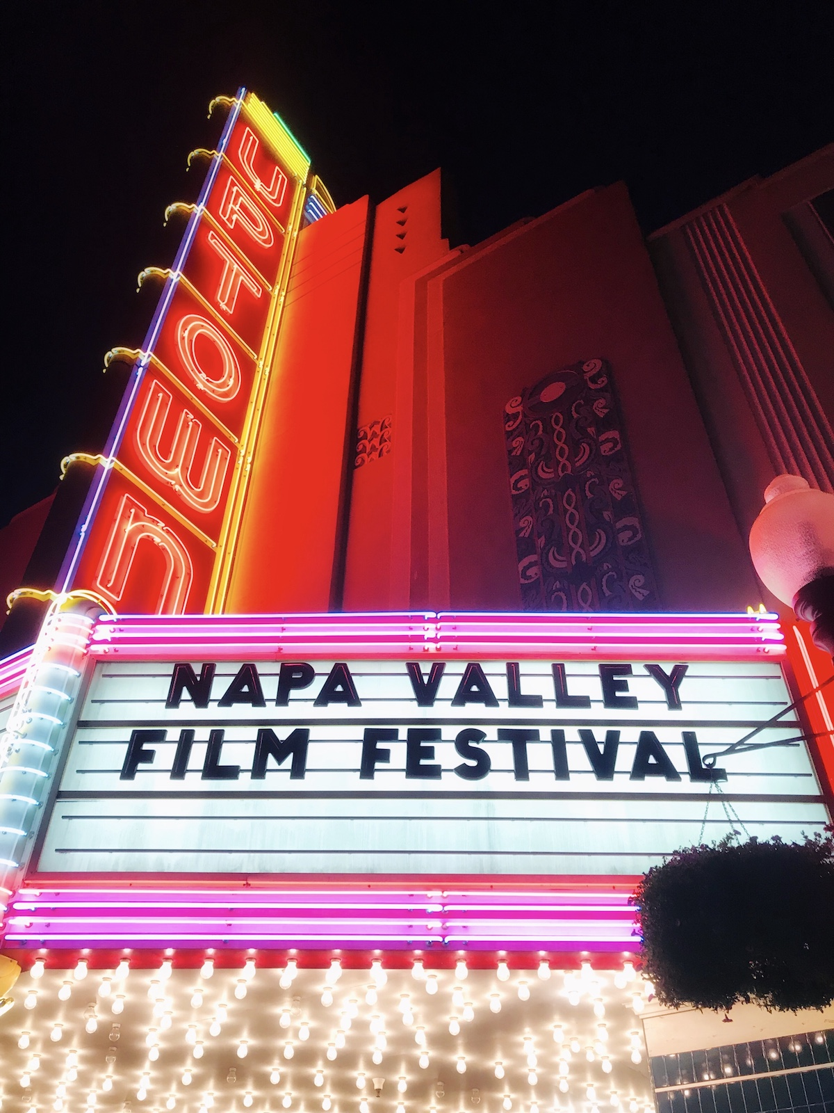 2018 Napa Valley Film Festival | Rachel's Stylish Life